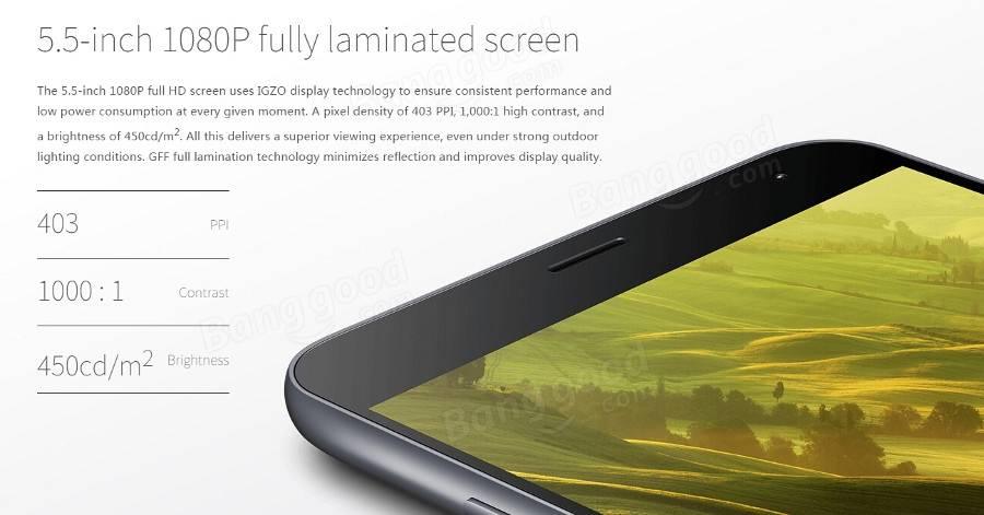 Meizu m2 Note Dual 4G 5.5-inch 32GB MTK6753 Octa-core Smartphone