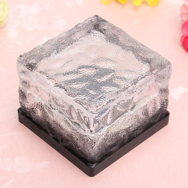 Solar Waterproof Color Changing Ice Blocks Led Outdoor