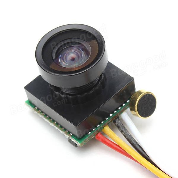 600TVL 1/4 1.8mm CMOS FPV 170 Degree Wide Angle Lens Camera PAL/NTSC 3.7-5V