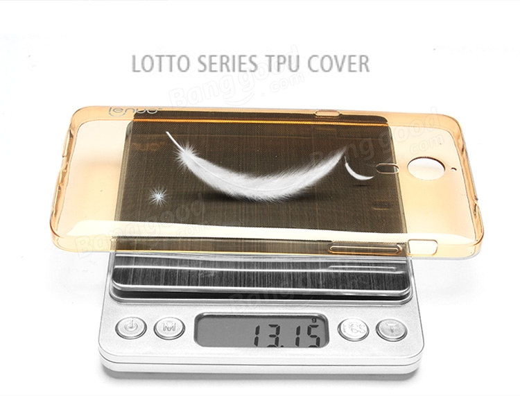 Lenuo Lotto Ultra-soft Super Clear TPU Cover Case For Letv Le1