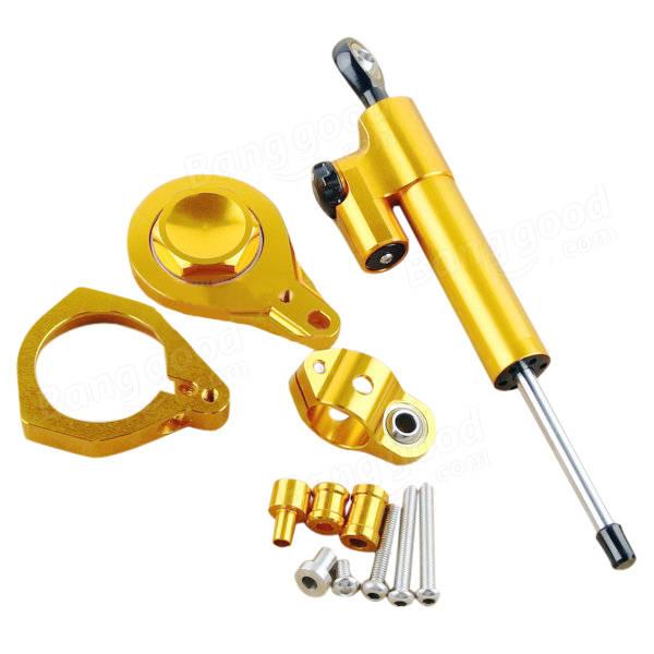 CNC Motorcycle Hyperpro Direction Steering Damper Set For BMW S1000 2010-2013