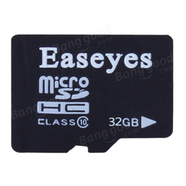 Easeyes Class 10 32GBマイクロSD TFカード(携帯電話用カードアダプタ付)