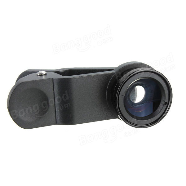 3 in1 Fish Eye Wide Angle Macro Clip Lens Kit For iPhone Samsung Sony LG HTC