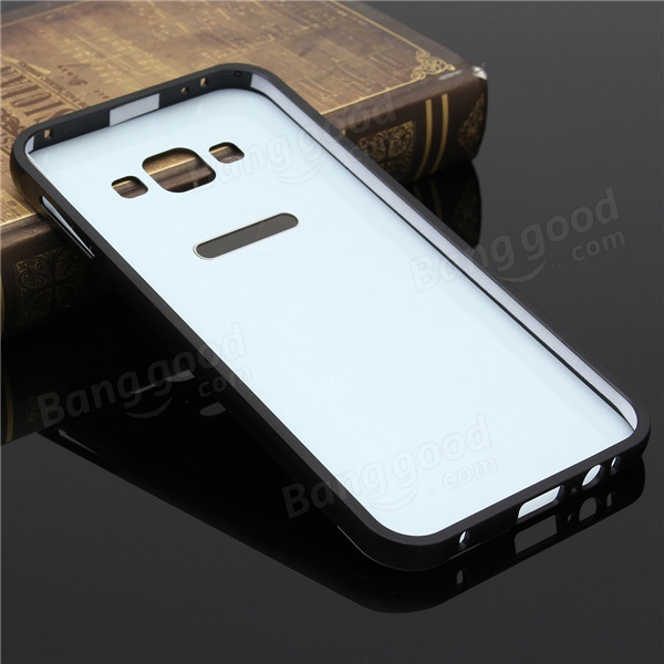 Ultra Thin Metal Frame PC Back Cover Case For Samsung Galaxy A8