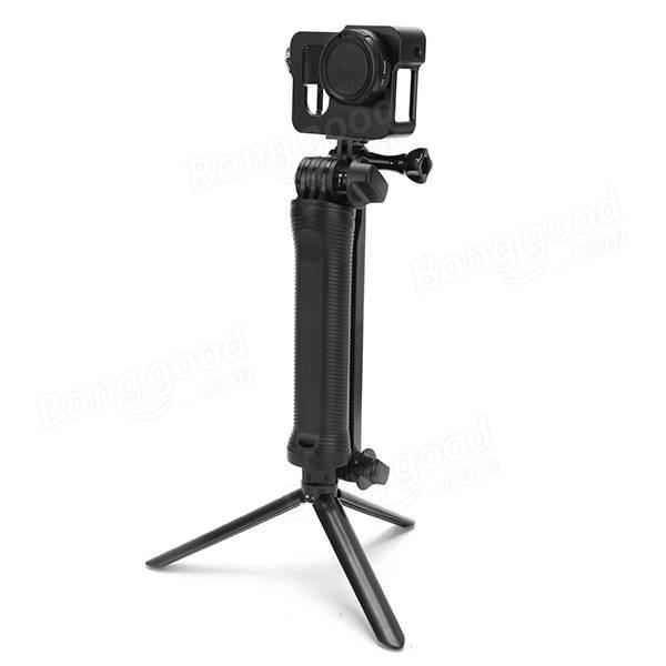 Adjustable 3 Way Multi-Function Non Soft Silica Gel Grip Arm Monopod Tripod Mount For Gopro 2 3 4 3 Plus SJCAM XIAOMI Yi Sports Camera