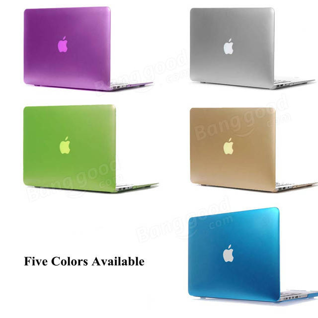 Metallic Hard Case Solid Laptop Protective Cover