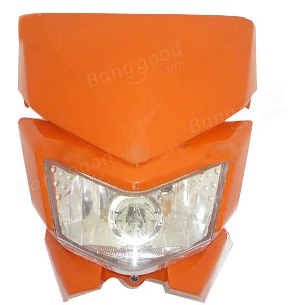 Universal Motorcycle Headlight For Kawasaki KLX450 Off-road Dirt Bike