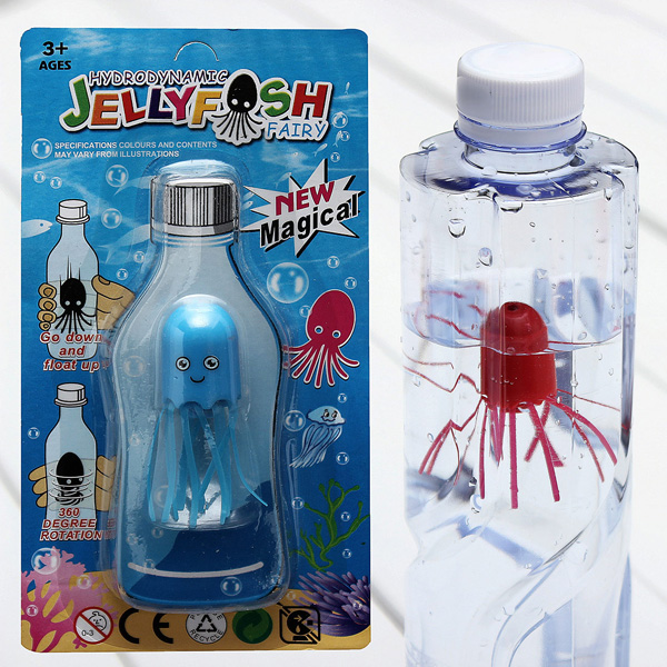 Novelty Magic Jellyfish Elf Diving Octopus Toy For Children - Photo: 9