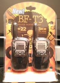 2Pcs Baofeng BF-T3 UHF462-467MHz 22 Channel Two-Way Radio Transceiver Radio Walkie Talkie Built-in Flashlight