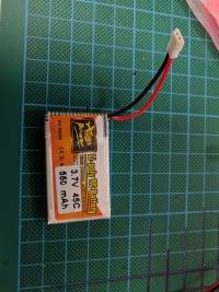 4X ZOP Power 3.7V 1S 550mAh 45C Lipo Battery White Plug