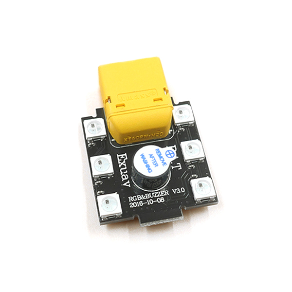 5V 3 in 1 Led Light Buzzer XT60 Plug Module for FPV Racing Drone
