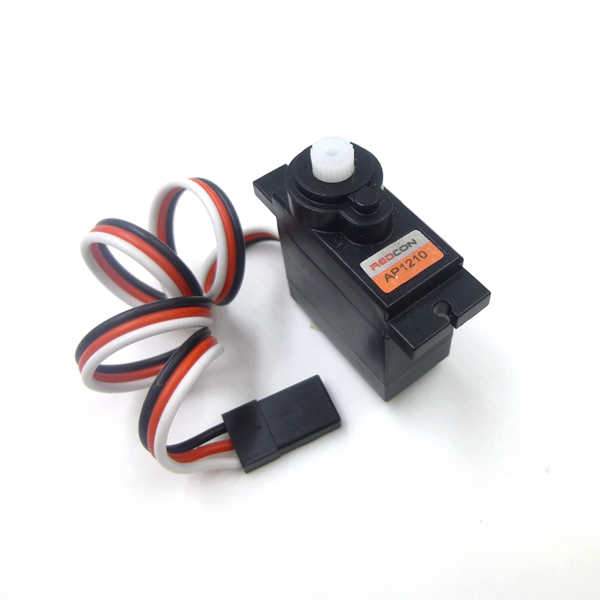 Redcon AP1210 Plastic Analog Mini Gear Micro Servo 9g for RC Model