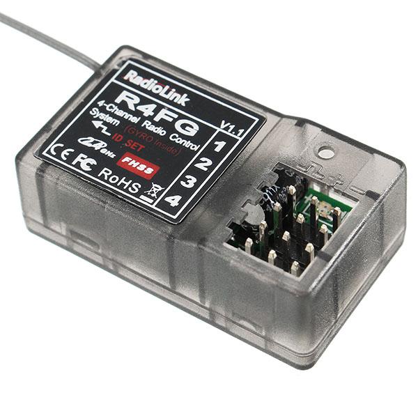 Radiolink FHSS R4FG 2.4G 4 Channel Radio Control System RC4GS&T8FB RX Receiver