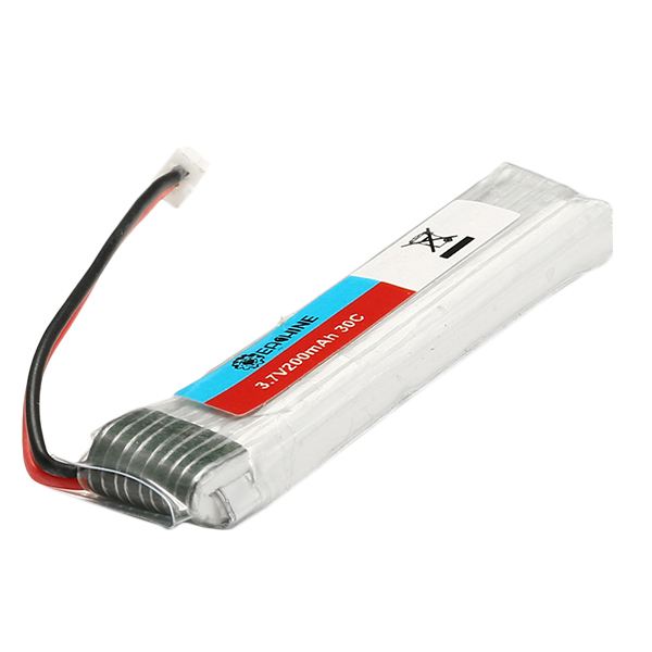 5X Eachine 3.7V 200mah 30C Lipo Upgrade Battery for Blade Inductrix Tiny Whoop RC Quadcopter