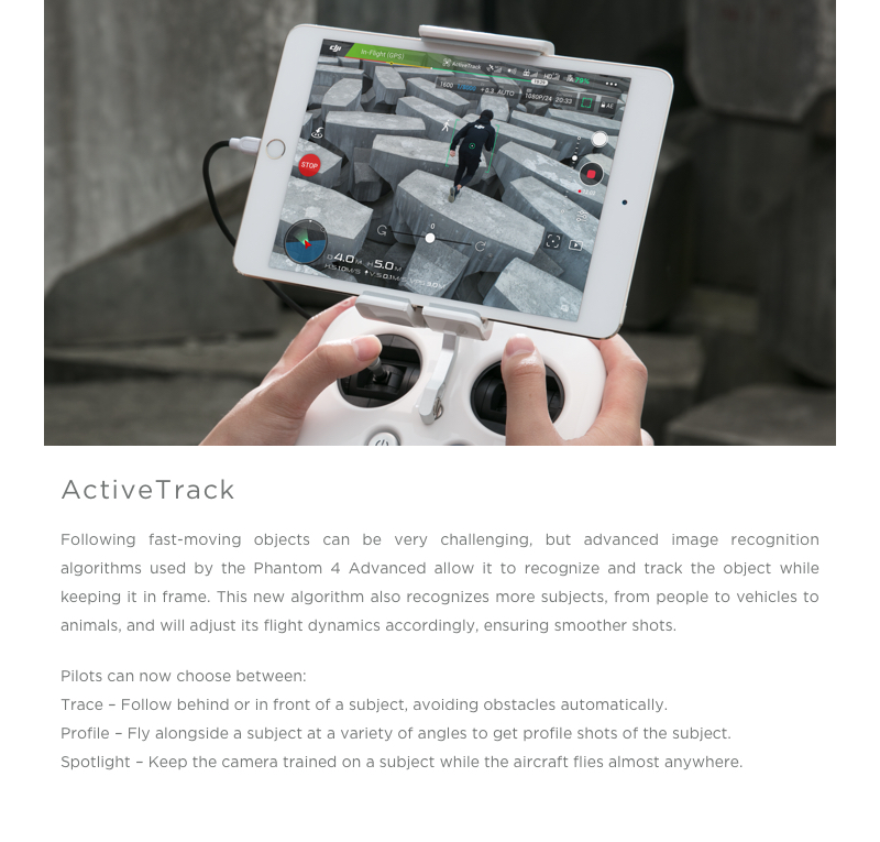 DJI Phantom 4 Advanced FPV With 4K HD Camera Avoid Obstacles Automatically RC Quadcopter RTF