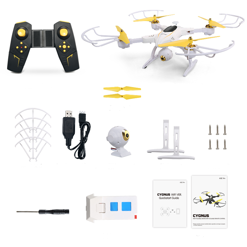 JJRC H39WH WIFI FPV With 720P Camera High Hold Mode Foldable Arm RC Quadcopter RTF