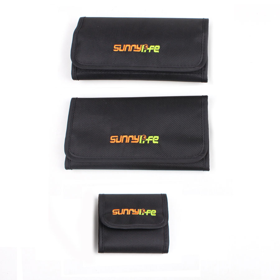Sunnylife Waterpoof Filter Pack Filter Portable Storage Bag For DJI Phantom 3/4 OSMO X3 X5 Filter
