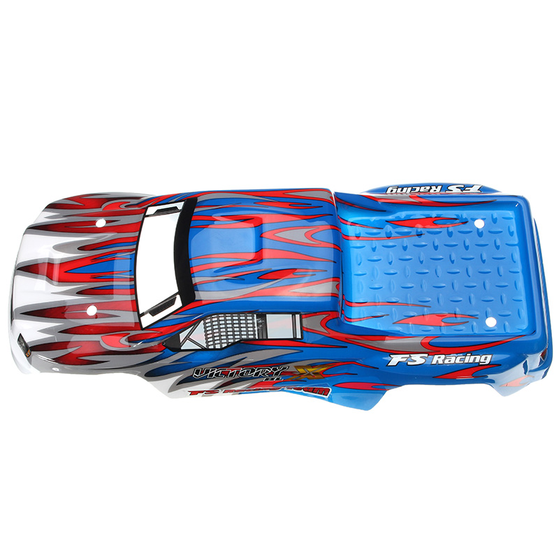 FS Racing 538551 Red & Blue RC Car Shell FS53692 1/10 RC Car Parts