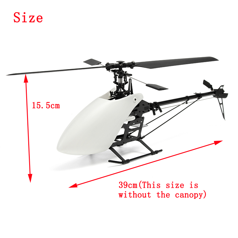 XFX 250 RC Helicopter DIY Set Kit with Blade Canopy