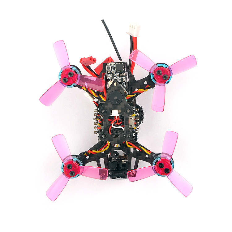 Happymodel Toad85 85mm Micro FPV 3K Carbon Fiber Frame Kit with Nylon Camera Mount