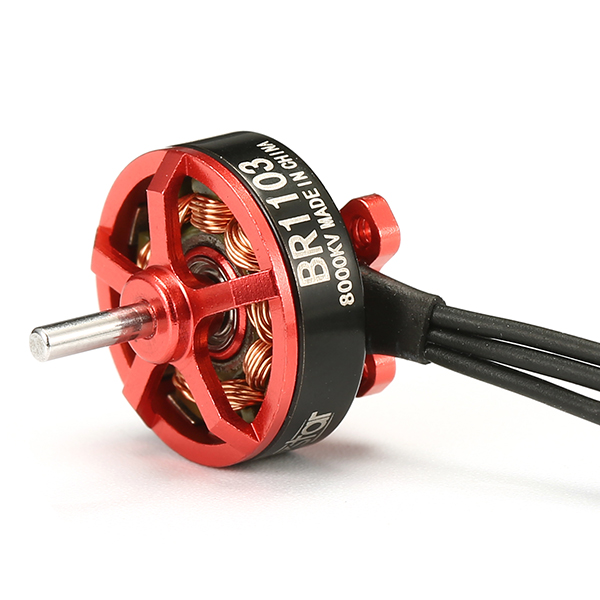 20X Racerstar Racing Edition 1103 BR1103 8000KV 1-2S Brushless Motor Red For 50 80 100 FPV Frame