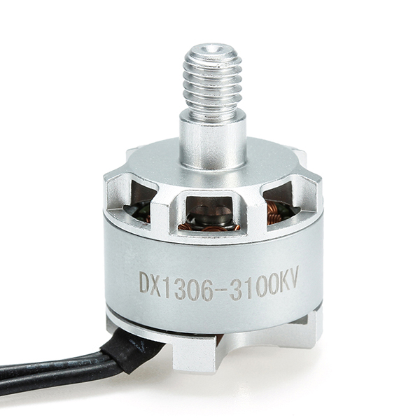 DXW DX1306 3100KV 1-2S Brushless Motor CW CCW For 150 180 200 FPV Racing Frame