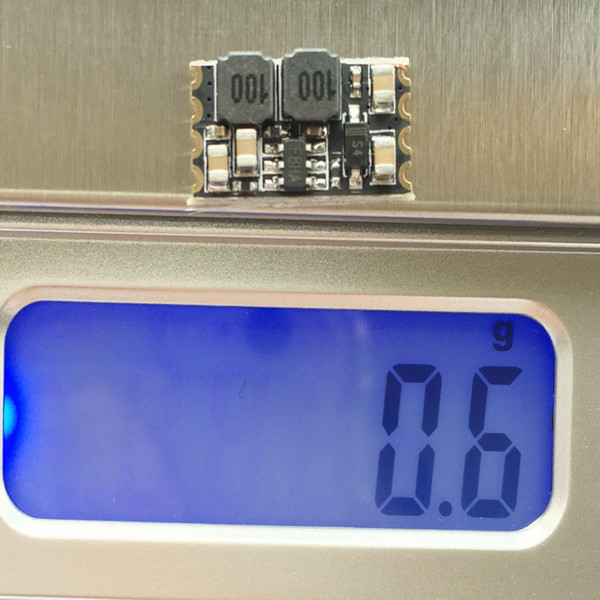 Micro DC-DC Converter Step Down Module BEC 6.5V~25.5V Input 1A Output Current for Multirotor
