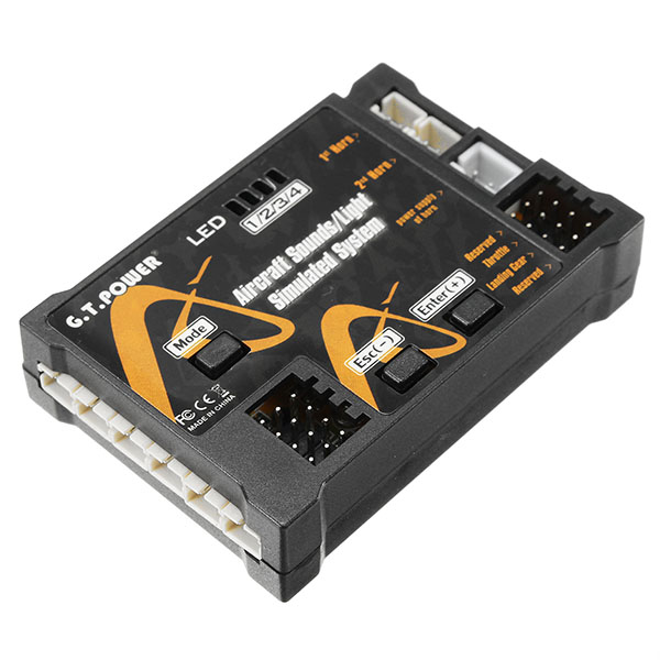 G.T.Power Aircraft Simulated Sounds Light System V2 For RC Airplane