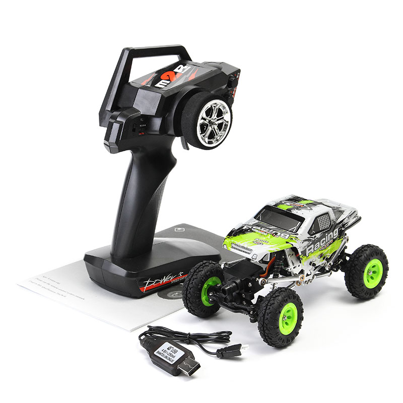 WLtoys 24438-B 1/24 4WD 2.4GHz 2KM/H Metal Electric Climbing RC Car