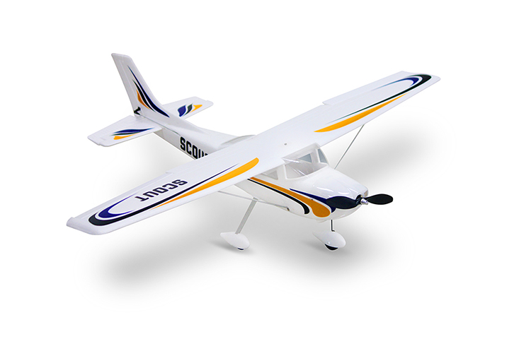 Dynam Scout 980mm Wingspan EPO Trainer Beginner RC Airplane DY8924V2 SRTF Mode 2