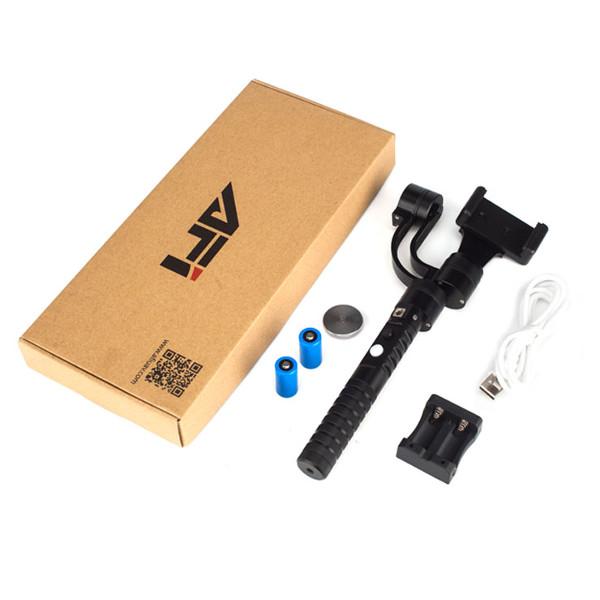 AFI V2 3-Axis Handheld Gimbal Handset Action Camera Gyro Stabilizer Aluminium Alloy