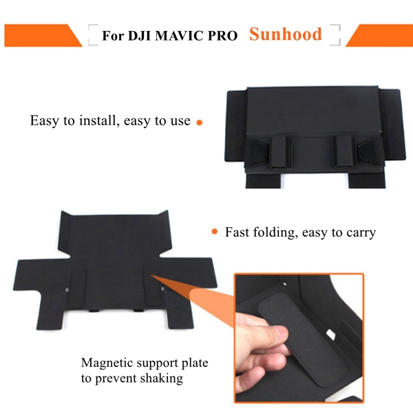 Tablet Phone Monitor Sunshade Sun Hood Cover For DJI MAVIC PRO Remote Control