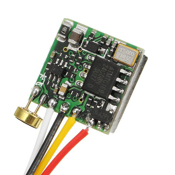 1080TVL 3.6mm 90 Degree 1/4 inch HD Color CMOS FPV AV Camera PAL/NTSC