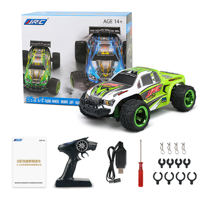 JJRC Q35 2.4G R/C 4WD 1/26 30+km/h Monster Truck RC Car