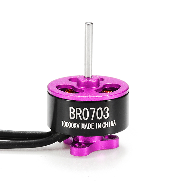 20X Racerstar Racing Edition 0703 BR0703 10000KV 1-2S Brushless Motor Pink For 60 80 100 FPV Frame