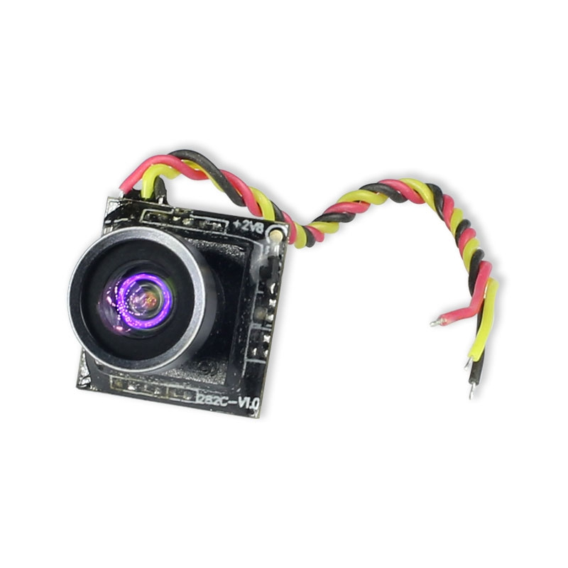 FuriousFPV Micro 600TVL 1/4 CMOS 120 Degree FPV Camera 1.9g 14*14mm For Mini Racer
