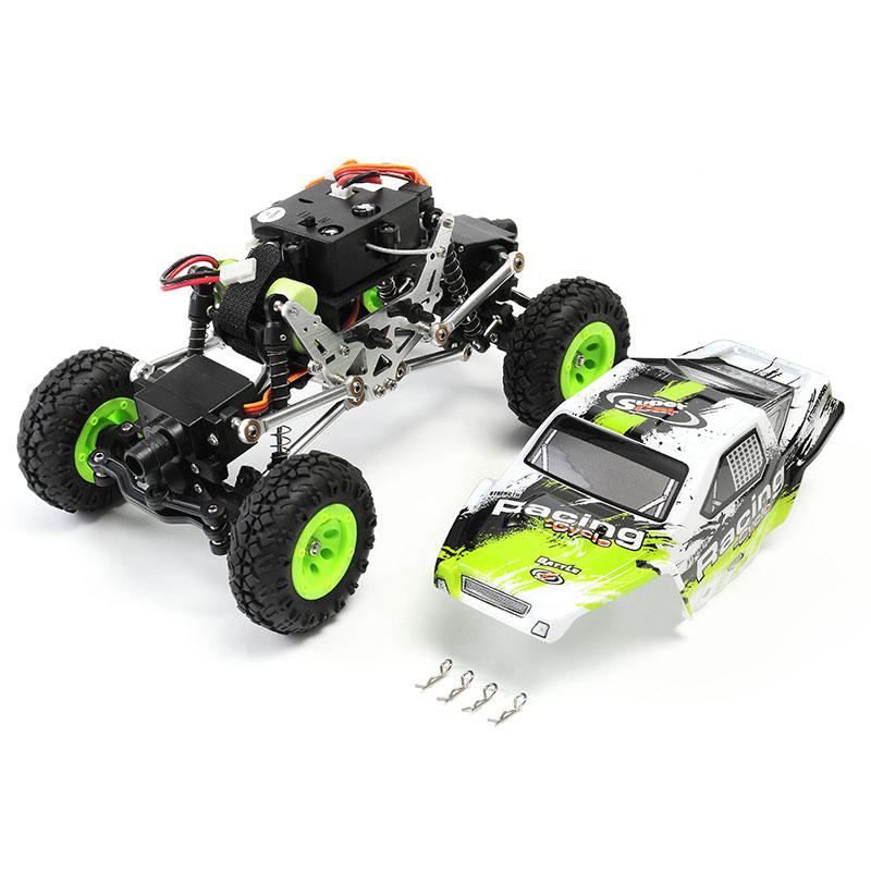 WLtoys 24438-B 1/24 4WD 2.4GHz 2KM/H Metal Electric Climbing RC Car