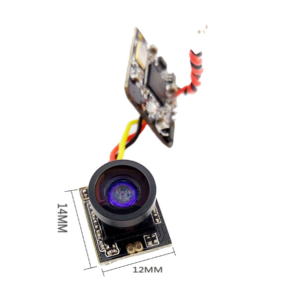 Turbowing 5.8G 700TVL Wide Angle 25mw 48CH Transmitter Camera NTSC/PAL Combo for FPV Multicopters