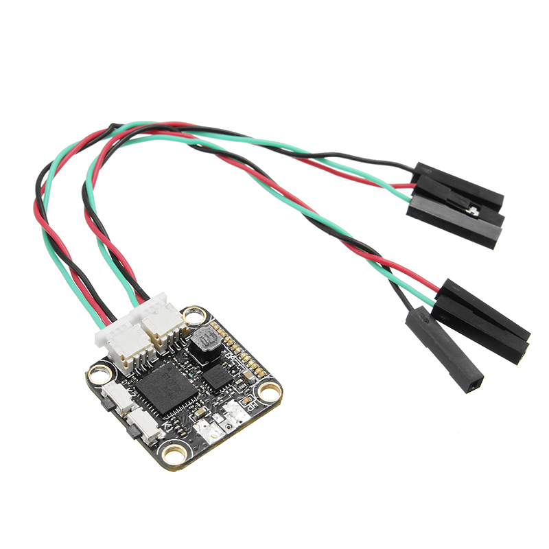 5.8G 48CH 25mW/200mW Switchable FPV Transmitter TX IPEX IPX 16*16mm Mounting Hole For Racer