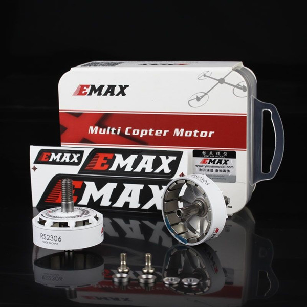 2 PC Emax RS2306 Motor Rotor for White Black Edition Spec Racing Motor CW Screw Thread with Screws