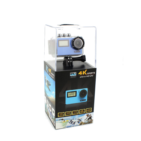 AT-N445 170 Degree Wide Angle 4K WiFi Camera Ultra HD FPV Sport Action Cam