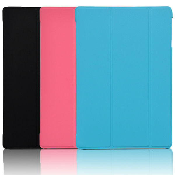 Tri-fold PU Leather Case Stand Cover For HP10 2101RA HP