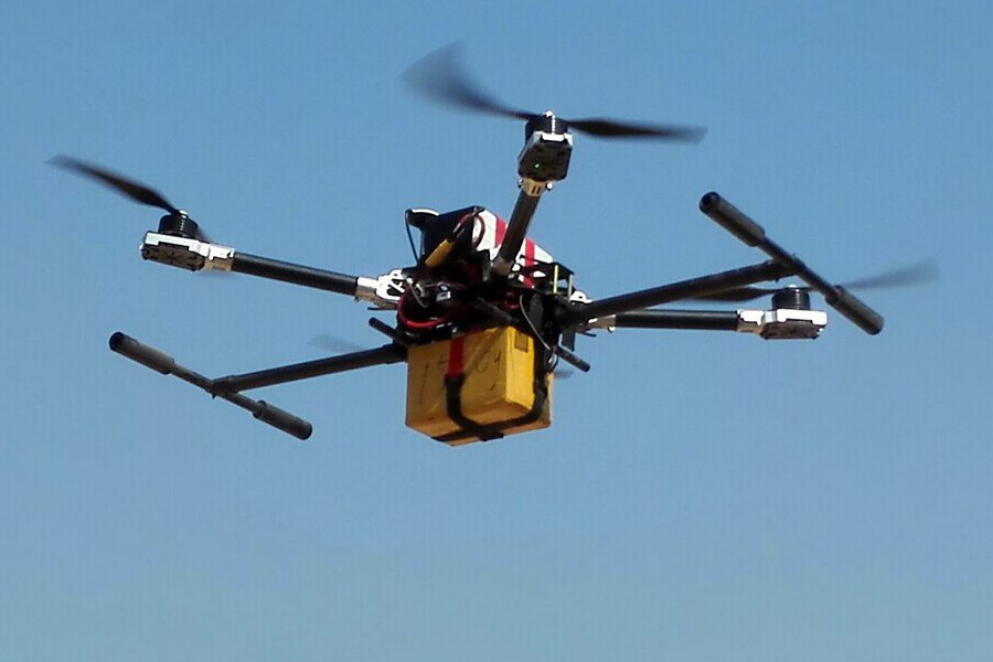 FPVfactory ROBO-Q 800mm Frame With Electric Retractable Landing Gear