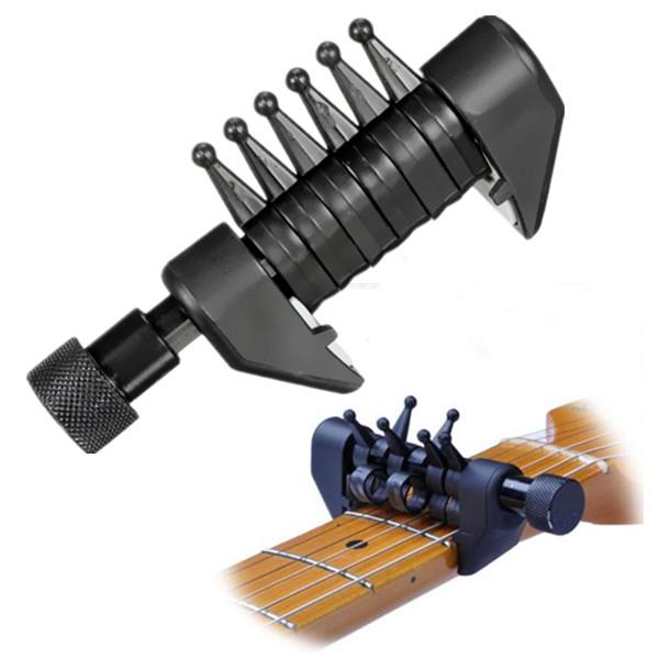 multifunción guitarra cuerdas de la guitarra capo acorde de la guitarra tono de capo Descuento en Banggood