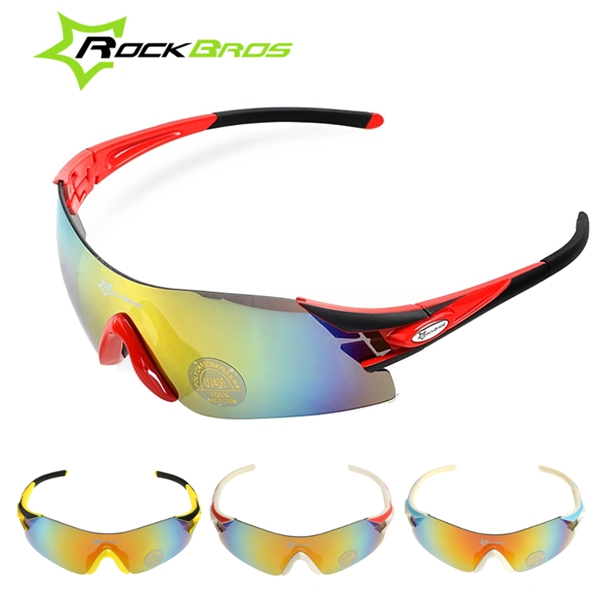 RockBros Polarized UV400 Bike Cycling Bicycle Sunglasses Glasses