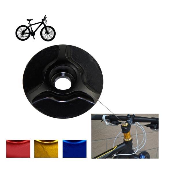 Bicycle CNC Aluminum Bike Headset Cap 28.6mm Sunflower Stem Top Cover
