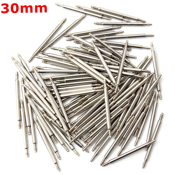 Buy 1030mm Stainless Steel Watch Band Spring Bars Strap Link Pins