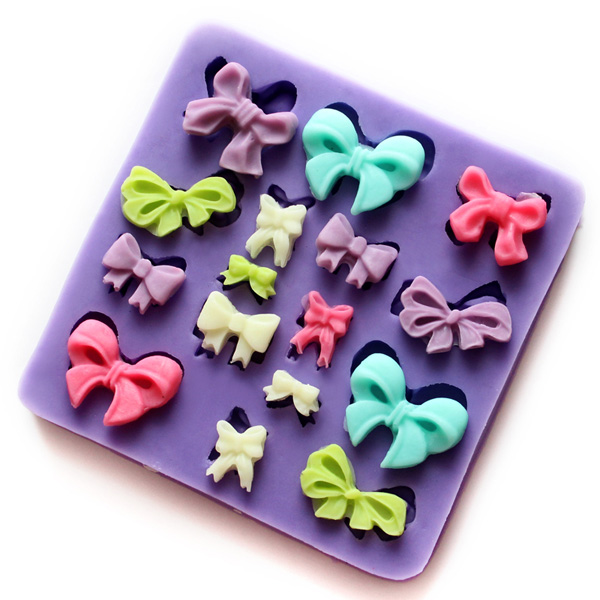Silicone Bows Cake Mold Cookie Biscuit Jelly Mould (Eachine1) Pittsburgh New search