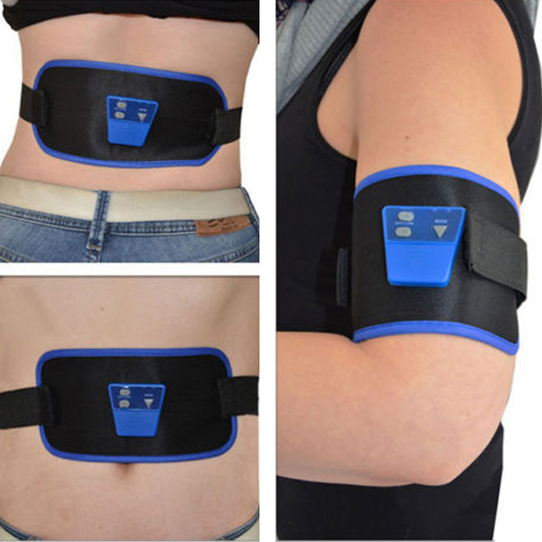 Купить со скидкой AB Gymnic Electronic Muscle Toning Trainer Arm Leg Waist Abdominal Massage Slim Belt