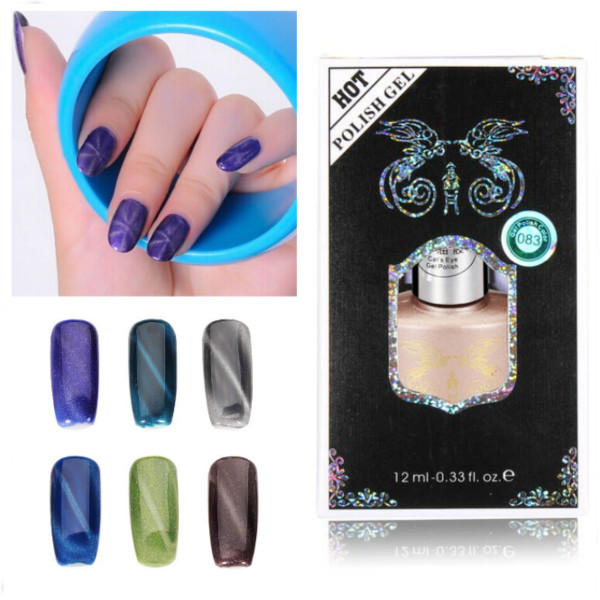 Buy 12ml Cat Eyes Magnetic Magic Nail Art UV Gel Polish